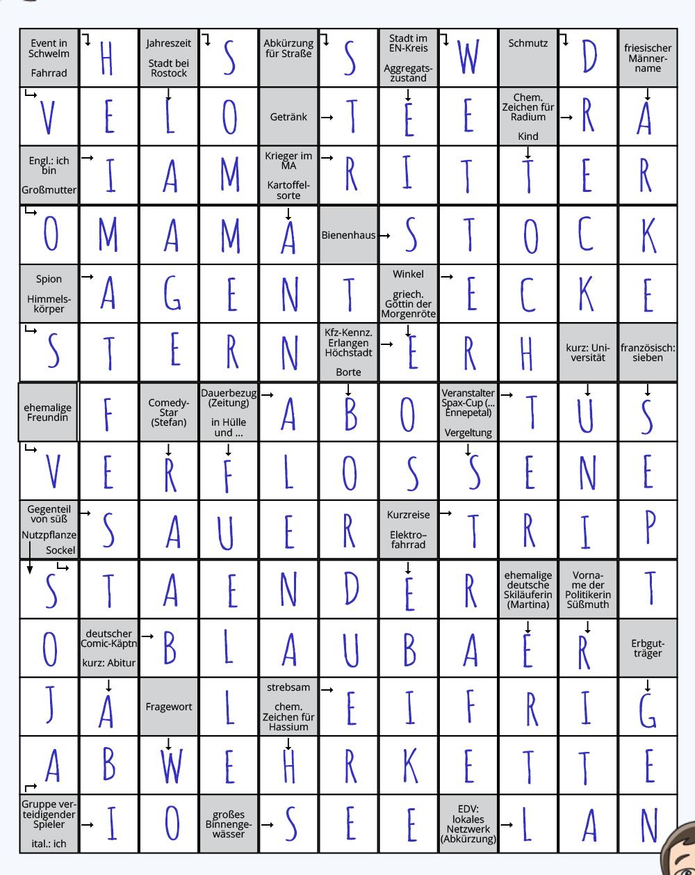 Kreuzworträtsel Lösung